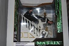 THE MATRIX RELOADED CHATEAU SCENE FIGURE PLAYSET DIORAMA MIB(NEO BUST STATUE 123