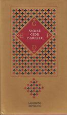 André Gide: isabelle 1992