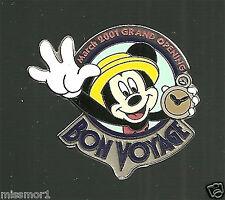 Disney Pin Tokyo Disneyland Bon Voyage March 2001 Grand Opening Mickey Mouse