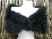 Black Marabou Feather Shrug/Wrap/Stole