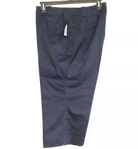 Lauren Ralph Lauren Womens Lauren Active Cropped Golf Pants Size 20W Navy NWT