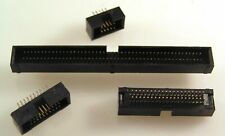 PCB Boxed Header 1.27mm Pitch Male Polarity Notch 10 to 100 Way Range EB55