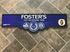 FOSTERS BAR RUNNER BEER DRIP MAT RUBBER NON SLIP HEAVY DUTY PUB BAR NEW