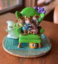 Wee Forest Folk JEEPERS CREEPERS, Mouse Expo 2019, Green Chair, Mouse