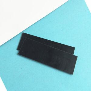 2pcs Plastic IR800 Infrared IR Light Pass Filter Long-wave Pass Filter 75mm*25mm