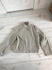 JIGSAW Stone Colour Lightweight Jacket - Size M