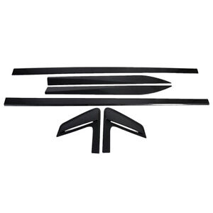 Carbon Fiber Protector Cover For BMW 3 Series G20 2019-20 Door Body Side Molding