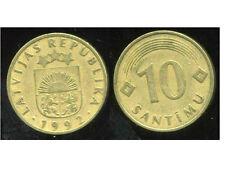 LETTONIE  10 santimu   1992