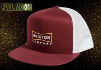 New Brixton Wedge HP Mesh Trucker Mens Snapback Cap Hat