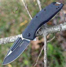 Couteau Kershaw Flourish A/O Lame Acier 8Cr13MoV Manche G10/Fibre Carbone KS3935