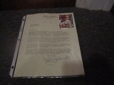 Mike Schmidt: TLS (EX) Autographed Letter with Photo