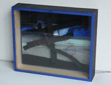 Bertrand Dorny technique mixte boîte bois papier fil fer oeuvre signée datée