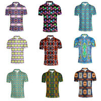 Mens Classic Shirt Fit Casual Office Short Sleeve S/M/L/XL/XXL White performance