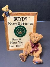 Boyds Bears & Friends Bears Hares You Can Trust ( Malcolm With Friend)