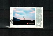 NORWAY Scott's 1746 Personalized Stamp ( 2014 ) F/VF Used on Piece