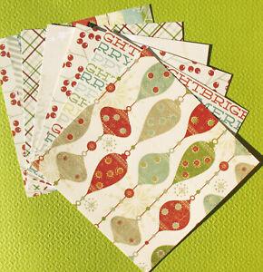 Noel - 6x6 Pink Paislee Scrapbooking Paper Pack