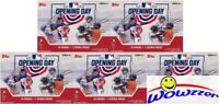 (5) 2020 Topps Opening Day Baseball HUGE Factory Sealed Blaster Box-HOT!