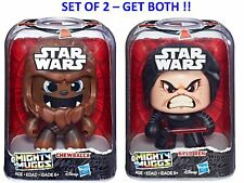 Star Wars Might Muggs Wave 1 2018 - Set of 2 - Chewbacca & Kylo Ren