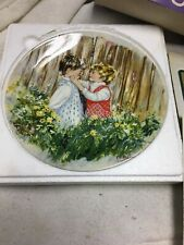 "1982 Wedgwood ""Be My Friend ""Collector Plate with Original Boxing's"