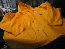 NWT - Mens HELLY HANSEN Yellow YARMOUTH PVC  Hooded Raincoat (Size 5XL)