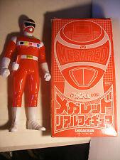 BANDAI 1997 Sentai SHOGAKUKAN Figure POWER RANGERS in SPACE Mega Red 25 cm RARE
