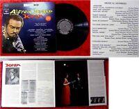 LP Alfred Drake in Kean Original Broadway Cast US Press