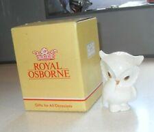 More details for vintage royal osborne bone china girl owl figurine 1420 with its original box