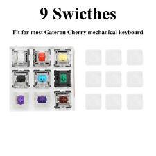 9 Switch 6.5cm x 6.5cm Acrylic 9 Keys Switch Tester for  Cherry MX Mechanical