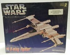 AMT/ERTL Star Wars Limited Edition Gold X-Wing Fighter Model Kit #8769 SEALED!!