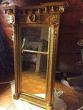 antique mirror gold