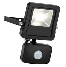 LED Outdoor Security Floodlight With PIR Sensor - 10W Cool White
