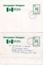 WW4946 NI Newspaer wrapper FDI and USED 2003  to UK