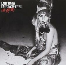 LADY GAGA - BORN THIS WAY THE REMIX (NEW) CD Remixes by Goldfrapp The Horrors