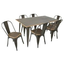 LumiSource Dining Set - DS-TW-OR6036E7