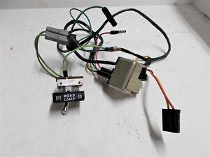 1970 Cuda Rblt Road Fog Lamp Switch Wiring Relay Barracuda 70 71 Nice Originals