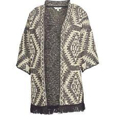 Fat Face - Women's - Hartland Aztec Kimono - Black - 78% Cotton - BNWT