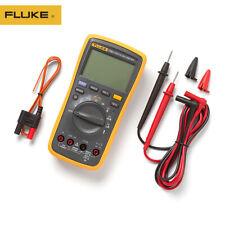 Fluke 17b Auto Range Digital Probe Multimeter Meter Temperature Amp Frequency New