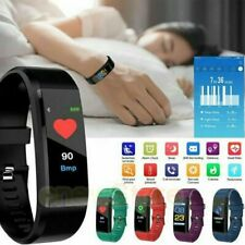 Fitness Smart Watch Activity Tracker Heart Rate For Women Men Universal Phone