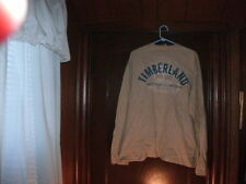 Timberland t-shirt long sleeve beige FRONT AND BACK size XL BRAND NEW
