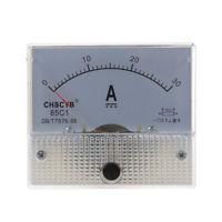 HU 85C1 Analogique Courant metre de panneau DC 30A AMP Amperemetre