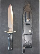 Randall Model 14 Knife With Matching Randall Leather Sheath Stainless Steel B