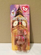 "Ty Britannia he Bear Miniature 5"" Collectible Bear McDonalds 1999"