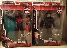 WWE KANE & UNDERTAKER WRESTLEMANIA HERITAGE SERIES ELITE FIGURES *NEW*