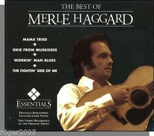Merle Haggard - The Best of - New 2005 Live Stereo Country CD!