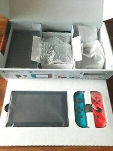 Nintendo Switch Neon Red and Neon Blue Joy-Con Console (LOCAL Pickup Only)
