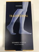 9000bdfc07 SIGVARIS 503 Traditional Beige Calf Compression Sock M Long Open Toe CCL 2  Bknee