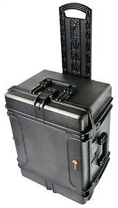 Elephant Elite EL2413W XX-Large Waterproof Plastic Case With Wheels And Foam