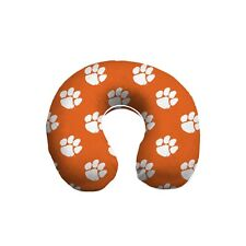 CLEMSON TIGERS MEMORY FOAM TRAVEL NECK PILLOW RELAXATION PLUSH FREE SHIPPING!