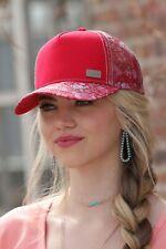 ddf1bc7795142 Cruel Girl Women s Red Vintage Print Snapback Ball Cap CCC0041001
