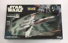 REVELL Star Wars X-Wing Fighter 1/112 Level 3 Model Set (PAINTED)